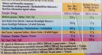 Delichoc - Informations nutritionnelles - fr