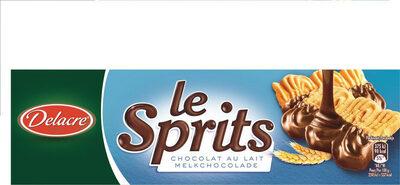 Delacre sprits chocolat lait - Produit - fr
