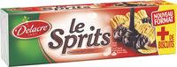 Delacre sprits chocolat noir - Produit - fr