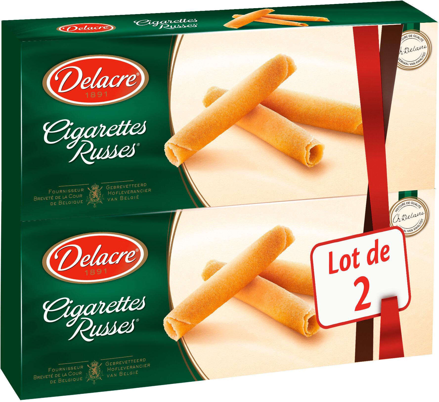 Delacre cigarettes russes lot 2x200g ( - Produit - fr