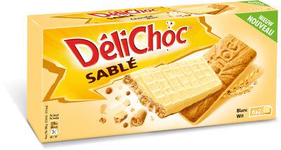 Delichoc sable chocolat blanc - Produit - fr