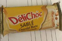 DéliChoc Sablé Chocolat Blanc - Produit - fr