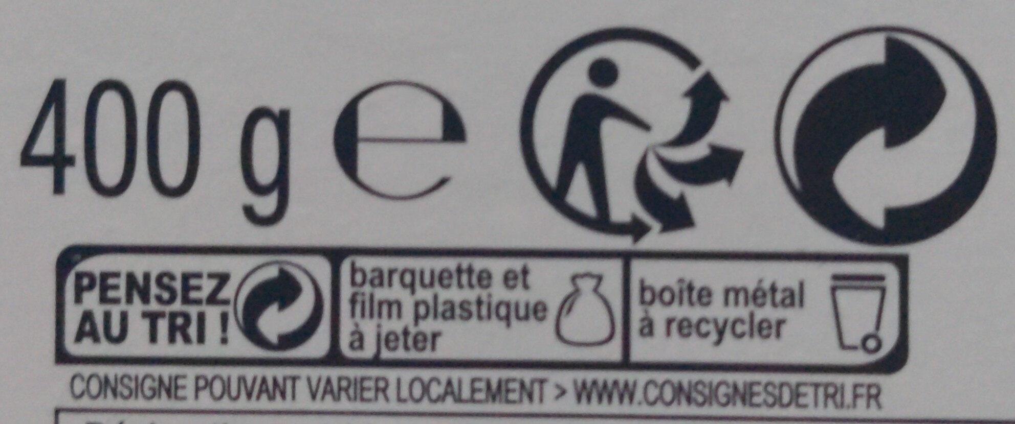 Delacre Tea Time - Instruction de recyclage et/ou informations d'emballage - fr