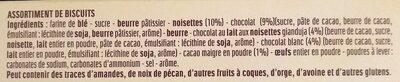 Assortiment de biscuits Delacre Constellation - Ingrédients
