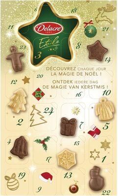 Delacre etoile calendrier - Produit - fr