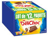Delichoc tablette chocolat lait lot 12x150g ( - Produit