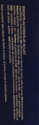 Delichoc tablette chocolat lait lot 12x150g ( - Ingrédients - fr