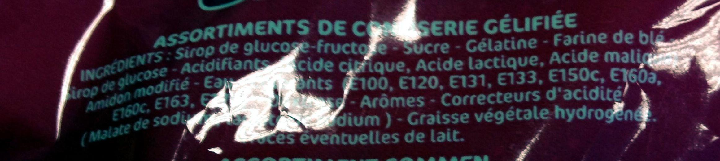 Lutti best fizz 350g - Ingredientes - fr