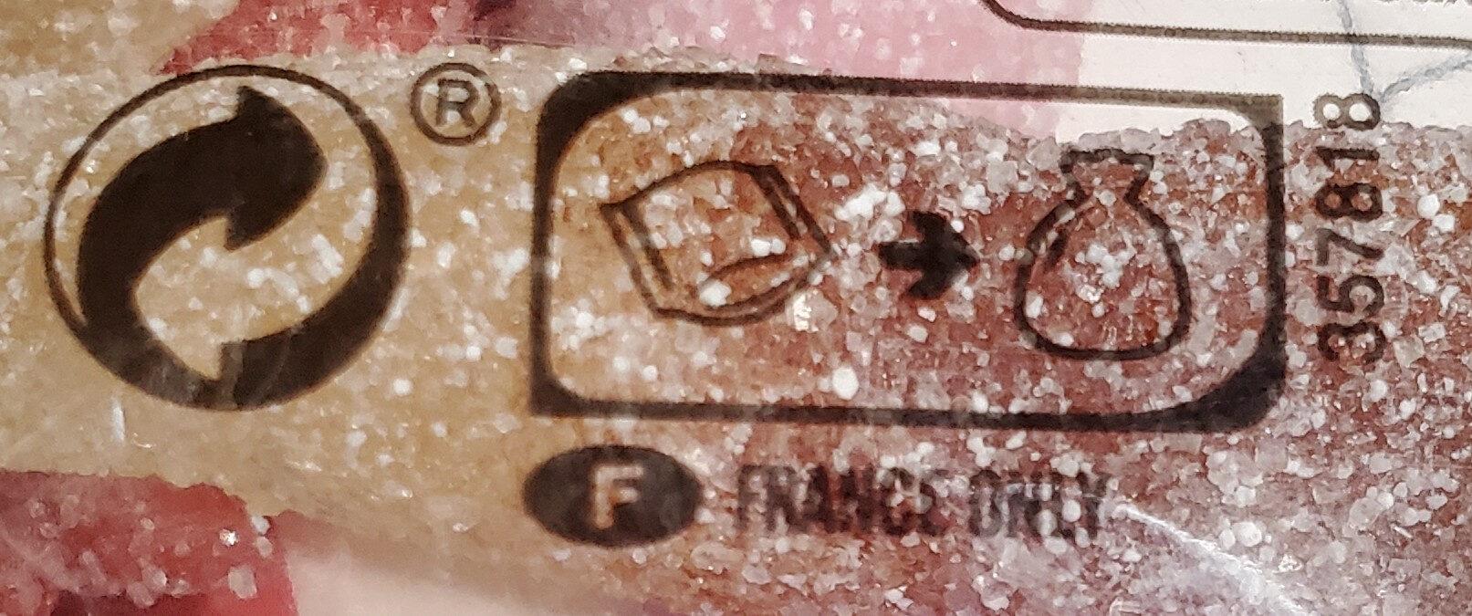 Lutti best fizz 350g - Instrucciones de reciclaje y/o información de embalaje - fr