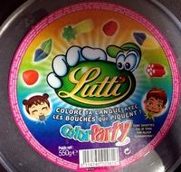 Color Party - Ingrédients