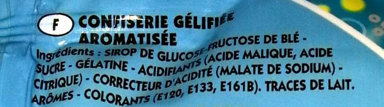 The Lapins Crétins - Inhaltsstoffe - fr