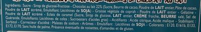 Calendrier de l'après - Ingrédients - fr