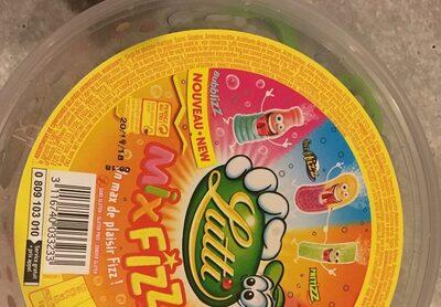 Mix Fizz - Ingrédients - fr