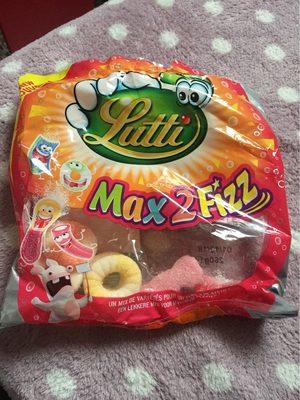 Bonbons Max 2 Fizz - Produit - fr