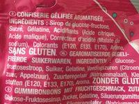 Bubblizz original lutti - Ingredients