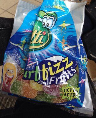 Surffizz goûts fruits extra acide lutti - Produit