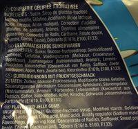Surffizz goûts fruits extra acide lutti - Ingrédients