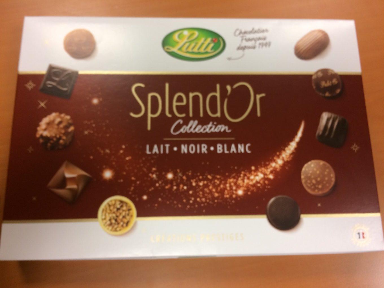 Splend'or lait Noir Blanc - Product
