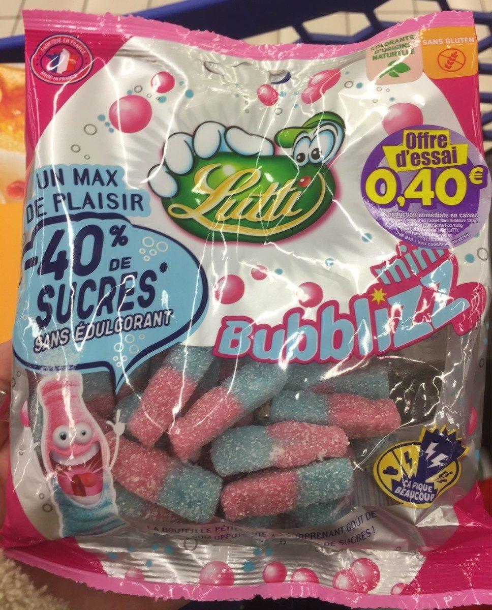 Mini Bubblizz (-40% sucres) - Product - fr