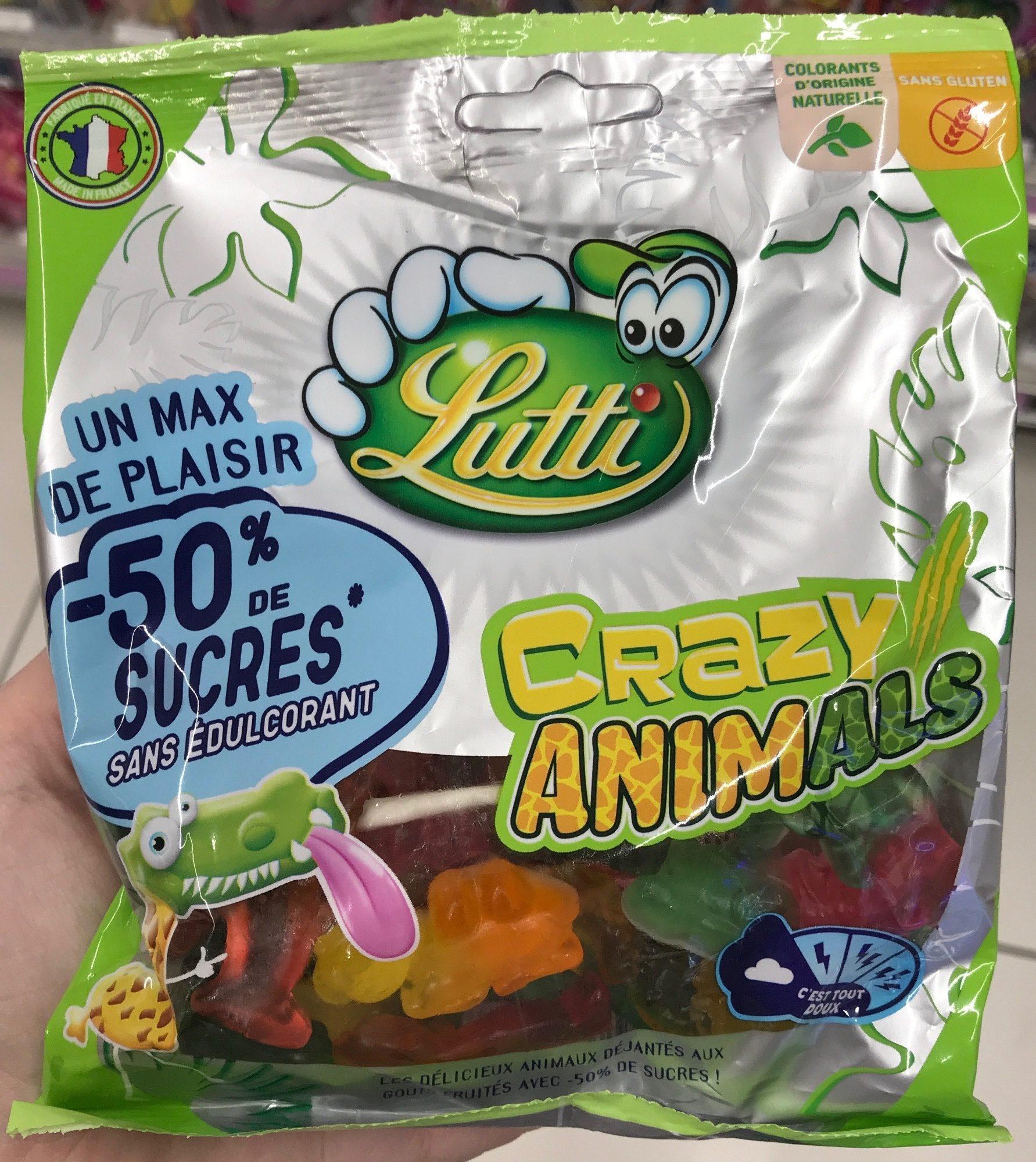 Crazy animals (-50 % de sucres) - Product