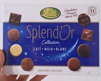 Splend'Or Lait Noir Blanc - Produit