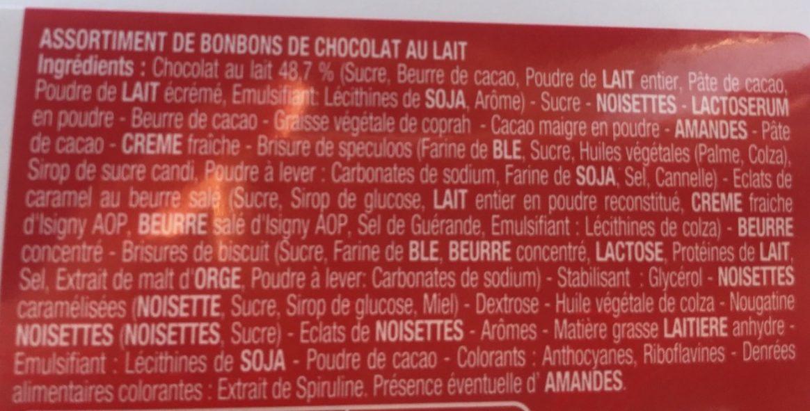 Splend'or Lait - Ingrédients - fr