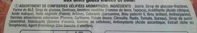 Dooo&fizz - Ingredientes - fr