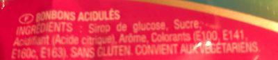 Arlequin - Ingrédients - fr