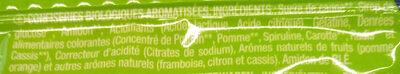Bonbon lutti bio - Ingrédients - fr