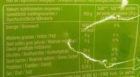 Bonbon lutti bio - Informations nutritionnelles - fr