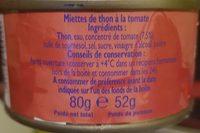 Miettes de thon - Ingredienti - fr
