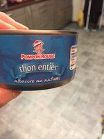 Thon entier albacore au naturel - Ingrédients - fr