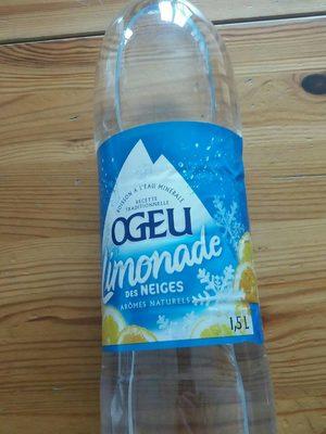 Limonade des neiges - Produit