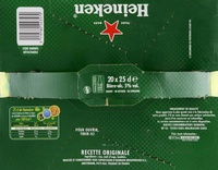 Bière blonde (pack de 20 x 25 cl) Heineken - Product