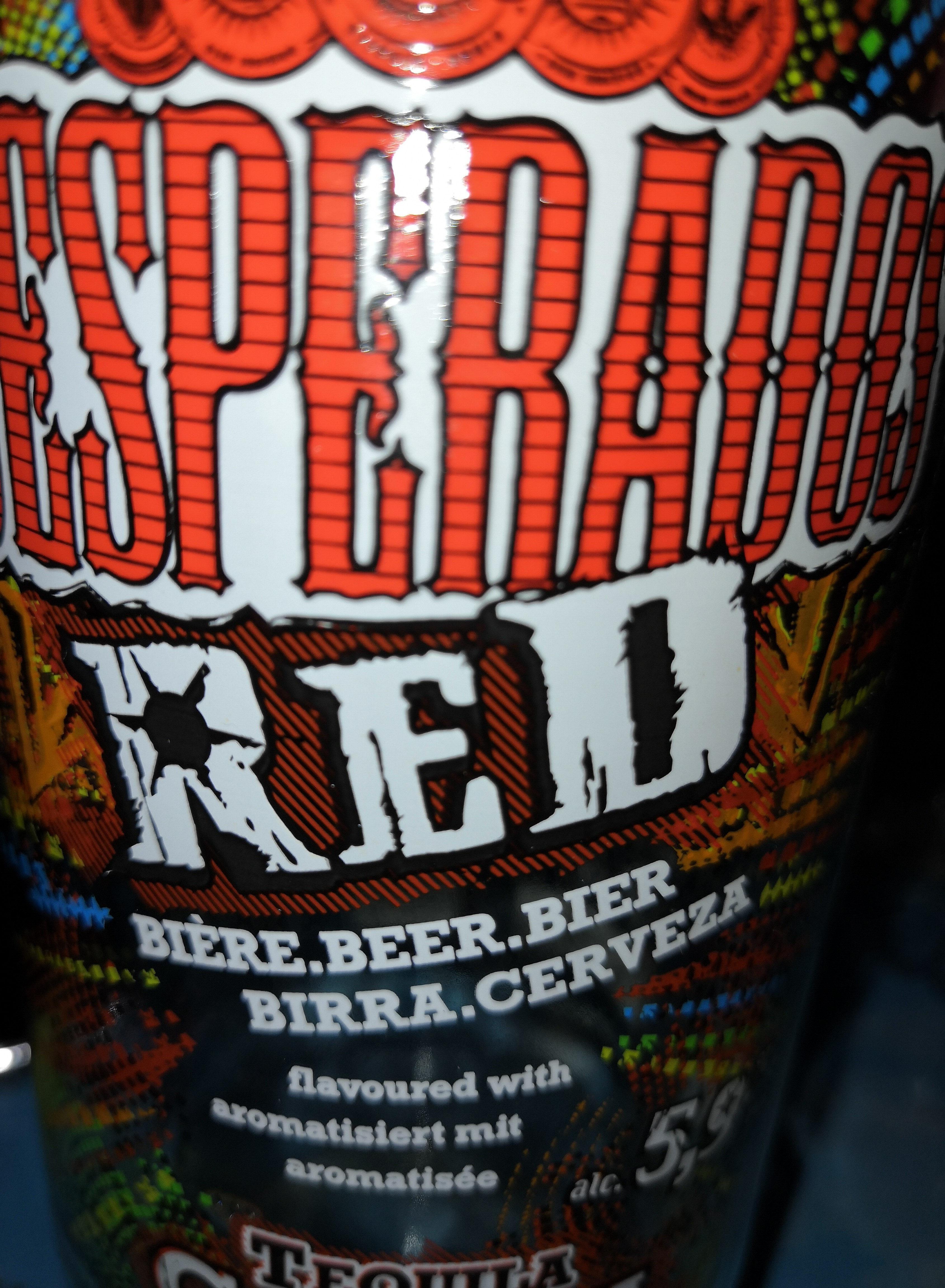 Biere Red Aromatisee Tequila Cachaca Guarana Desperados
