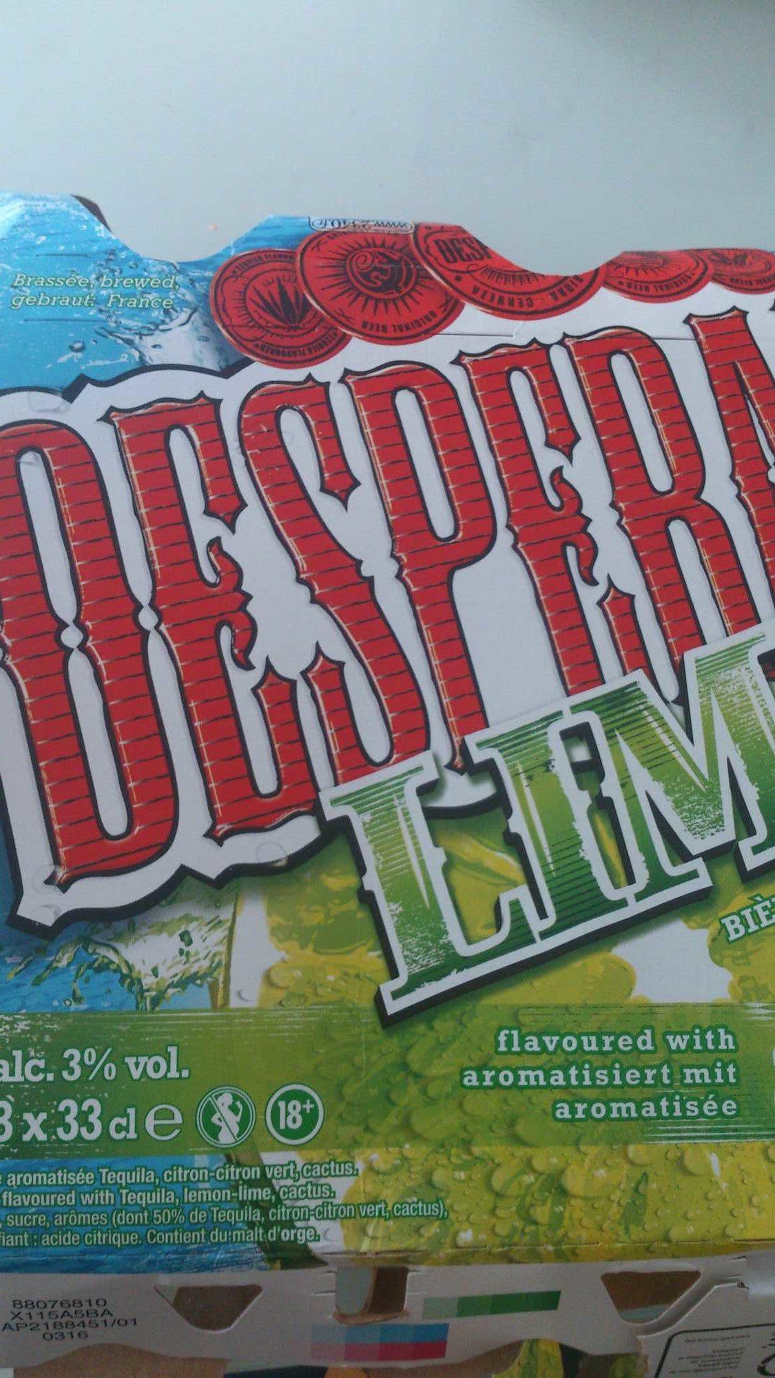 Desperados Lime 33 Cl