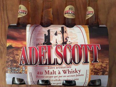 Bière aromatisée au Malt à Whisky Adelscott   calories et ... 8f56286d23d