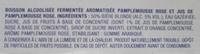 Radler Pamplemousse Rose - Ingrédients - fr
