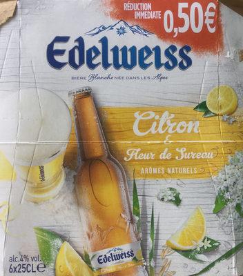 Bière Blanche Citron & fleur de sureau - Product - fr