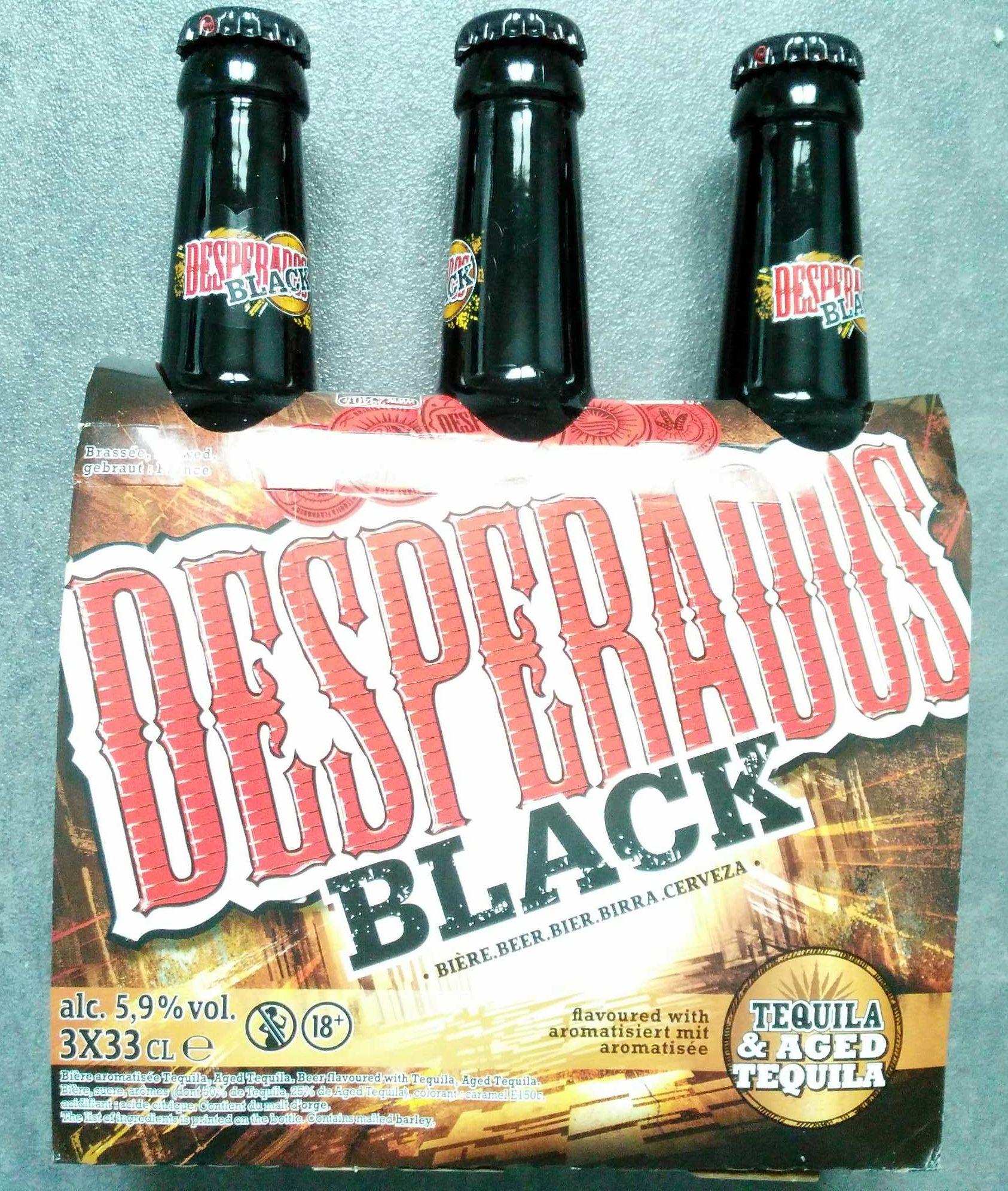 Desperados Black - Product - fr