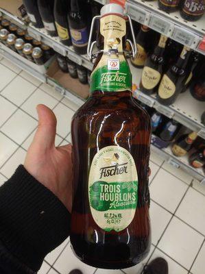 Trois Houblons Alsaciens Bière blonde - 1