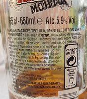 Desperados Mojito - Ingrediënten - fr
