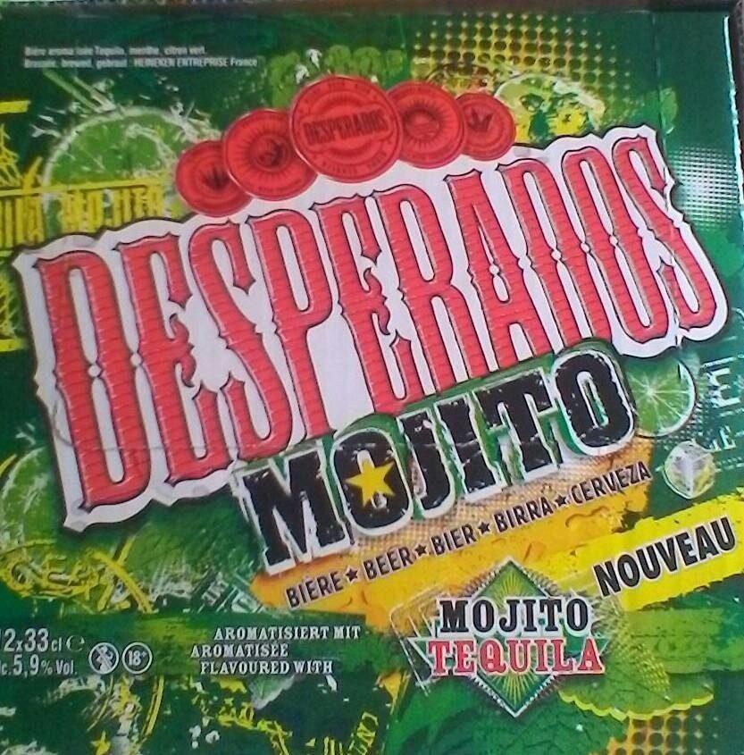 Desperados mojito - Product - fr