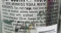 Desperados Mojito - Ingrédients - fr