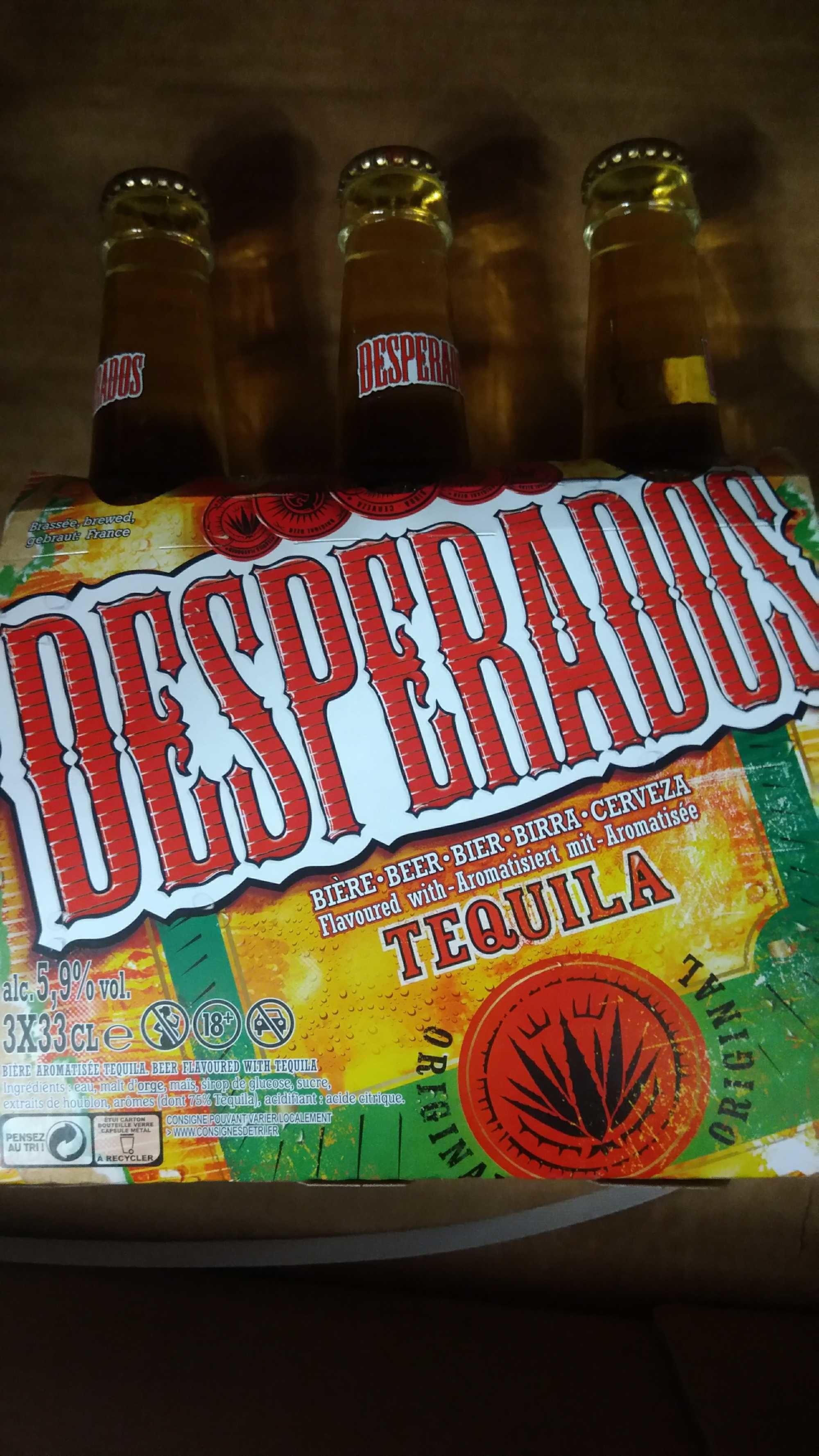 Desperados Biere 3x33cl 3