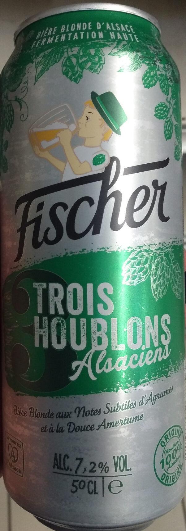 Fischer Trois Houblons Alsaciens - Produit - fr