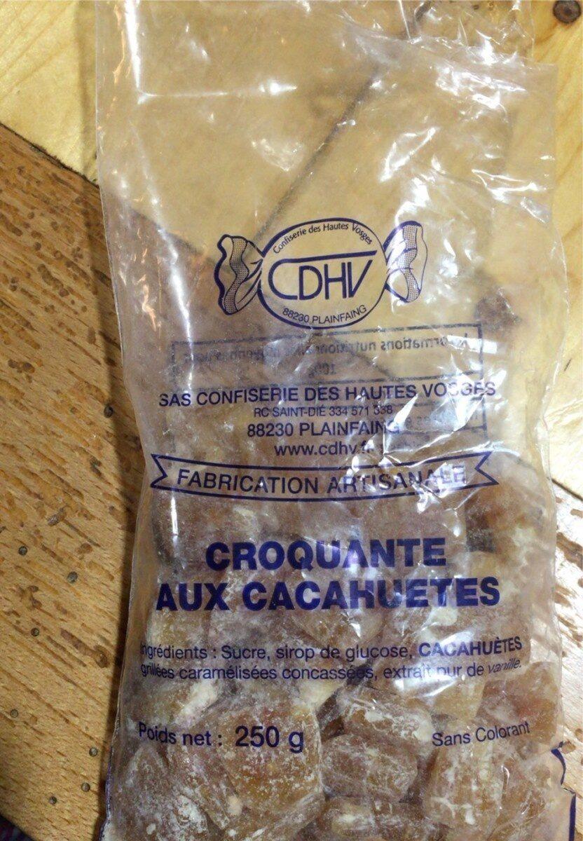 Croquante aux cacahuetes - Product - fr