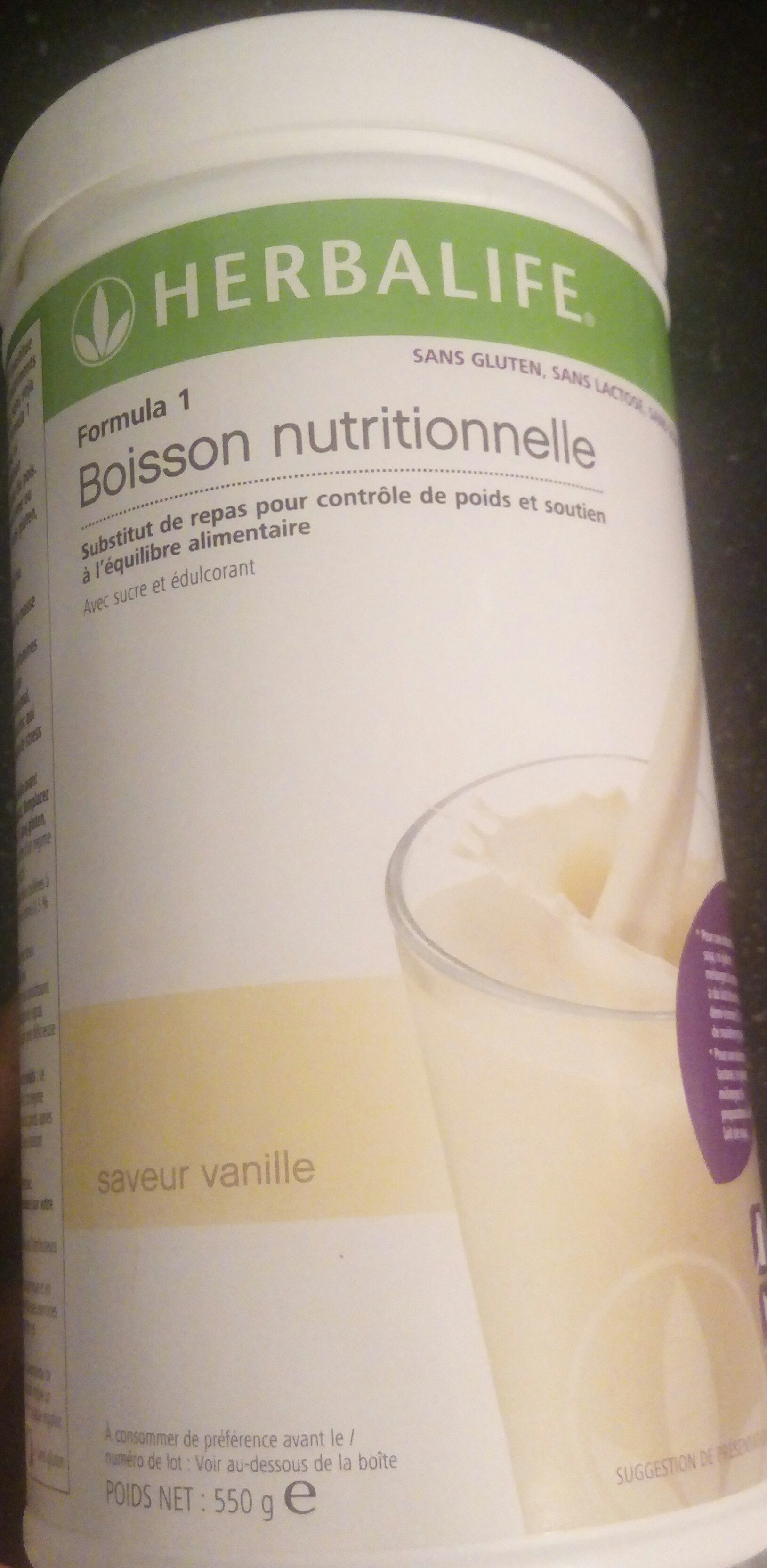 Herbalife free vanille formula 1 - Product - fr