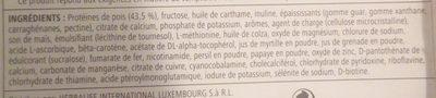 Herbalife boisson nutritionnelle - Ingredienti - fr