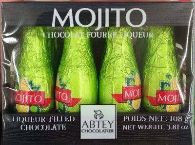 Chocolat fourré liqueur Mojito - Produit - fr